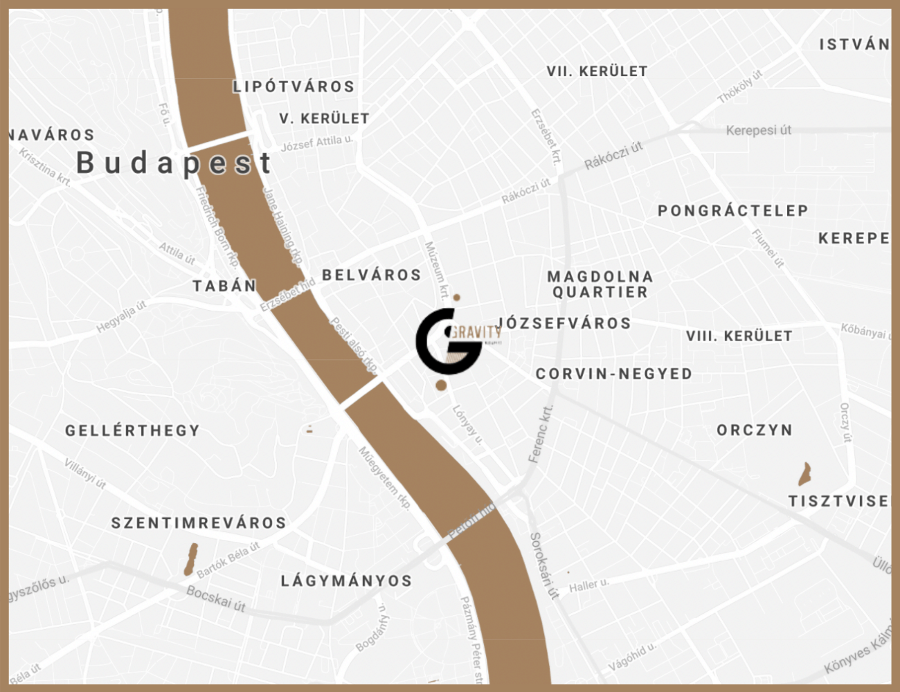 Gravity Brewing - Budapest City Center Beer - District IX Brewery and Taproom